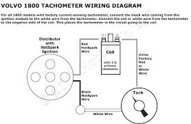 volvo 1800 tachometer wiring diagram with hotspark ignition fancy sunpro mini tach wiring diagram at Sunpro Tach Wiring Diagram