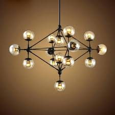 black iron lamp pendant chandelier light retro industrial loft multiple tea glass globe black iron pendant black iron lamp shade