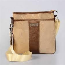 Coach Apricot Brown Shoulder Bag