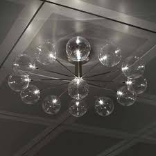 modern ceiling lamps the fun and whimsical cer wheel ceiling light showcases stunning glass globes paired modern ceiling lamps