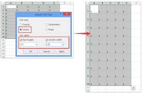 Turn Excel Into Graph Paper How To Create Grid Paper Square Template In Excel