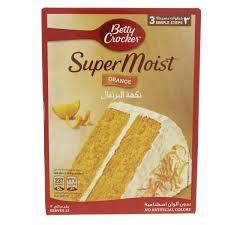 Betty Crocker Gel Food Color Blending Chart Buy Betty Crocker Supermoist Cake Mix Orange 500 Gm Online