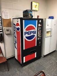 Pepsi Vending Machine Serial Number Fascinating VINTAGE PEPSI MACHINE Vendolator 4848 PicClick