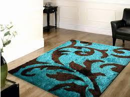 chocolate brown area rug inspirational teal brown area rug area rug ideas