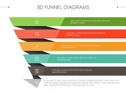3d Sales Funnel Diagram Presentationdesign Powerpoint