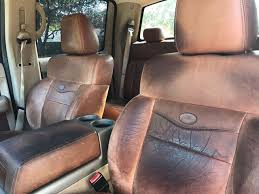 ford king ranch seat covers 2008 used ford f 150 4wd supercrew 150 king ranch at