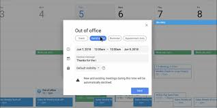 how to use google calendar s new out of office feature business insider