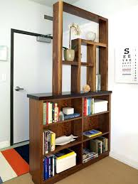 bookcase room dividers bookshelf divider ideas uk open bookcases .