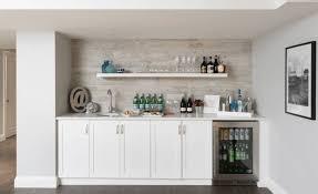 Basement wet bar corner Small Collect This Idea Whitebasementbar Freshomecom Home Bar Ideas Freshome