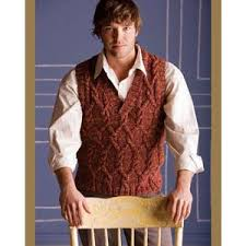 Free Knitted Vest Patterns Awesome Men's Vests Knitting Patterns Planet Purl