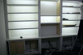 ikea shelf lighting. Bookcase Lighting Ideas In Bookshelf Ikea Shelf