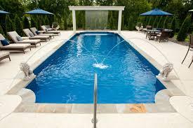 a luxurious fiberglass pool in nashville tn