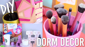 DIY Dorm Room Decor For Back To School/College | Pinterest And Tumblr  Inspired   YouTube