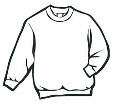 Small Picture Sweater Winter Clothes Coloring Page Art Ed winter projects
