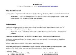 Resume Template Google Drive