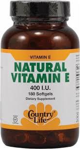 Country Life Natural Vitamin E Softgels 400 IU 180 Count ... - QFC