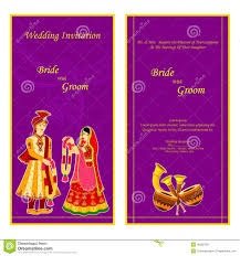 Indian Wedding Invitations Invitation Card Vector Illustration Best