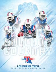 Tech Guide Football Athletics Media Louisiana By 2015 0afnw5qx