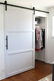 sliding barn doors for closet new how to build and install a door home improvement in 24