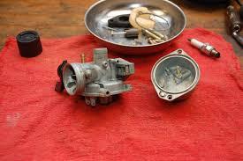 diy baking soda blaster after motorcycle carburetor xr70