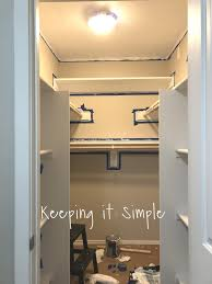 and that s it for the closet isn t it awesome here are a few pictures to show you all the diffe angles of the closet and how we built the shelves in