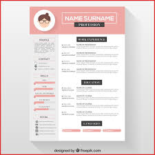 Fresh Amazing Cv Templates Free Resume For A Job