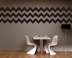chevron stripe right angle wall decal