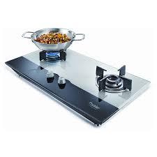 gas stove. Prestige Hobtop 2 Burner Glass Top Gas Stove,Cookware Stove E