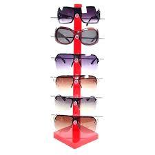 sunglasses rack for diy sunglass china acrylic stand two sides display rotating