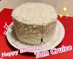 Do the preparation task first. Ak On Twitter Happy Birthday Tom White Chocolate Coconut Cake Cruise Cake Happybirthdaytomcruise トムおめでとう
