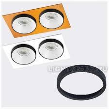 <b>Italline</b> SP <b>RING</b> black <b>Кольцо</b> декоративное для светильника ...