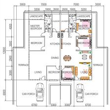 single y semi d house design