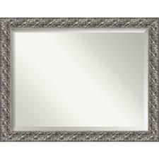mirror 48 x 36. silver luxor 48 x 36 in. bathroom mirror e