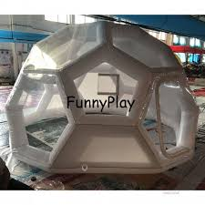 inflatable camping polygon tent outdoor mosquito net tents hot s inflatable tents for al