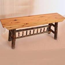 amish furniture in intercourse pa. 4 foot hickory bench amish furniture in intercourse pa
