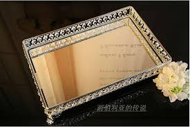 Decorative Metal Serving Trays 100100cm rectangle decorative crystal tray serving tray glass fruit 32