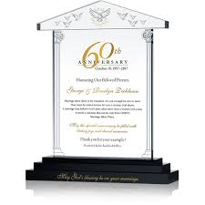 60th anniversary gifts for pas