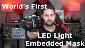World's First <b>Customizable LED</b> Embedded <b>Smart</b> Mask - CX9 Mask ...