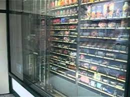 Grocery Store Vending Machine Delectable Automated Convenience Store Vending Machine Lyon France YouTube