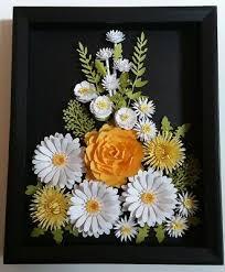 daisy rose flower arrangement handmade