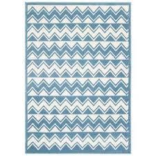 whimsical white light blue 4 ft x 6 ft indoor area rug