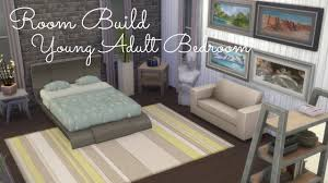 Sims Bedroom Sims 4 Room Build Young Adult Bedroom Youtube
