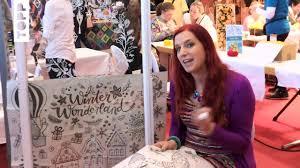 Interview Mit Bine Brändle Zur Vorlagenmappe Fensterdeko Mit Dem Kreidemarker Auf Der Kreativmesse