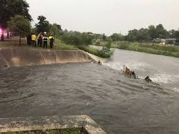 drainage ditch woman pulled from drainage ditch near woodlawn lake after being