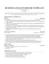 Resume Examples Business Analyst Resume Examples Best Best Business