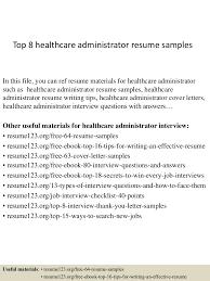 Healthcare Administration Resume Samples Top100healthcareadministratorresumesamples1503312110010030conversiongate100thumbnail100jpgcb=11002710056555 25