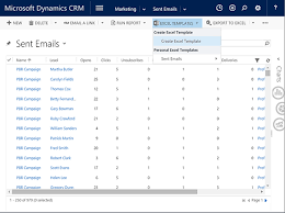 Excel Crm Templates Powerful Reporting With Excel Templates Blog Xrm