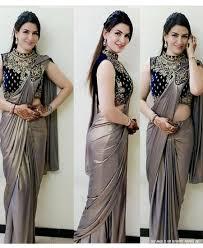 Stunning Designer Sarees Re Stunning Two Tone Rangoli Silk Patch Work Saree