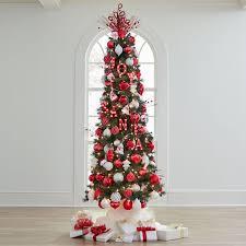 7 slim pre lit tree christmas brylanehome