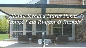 Image result for kanopi baja ringan